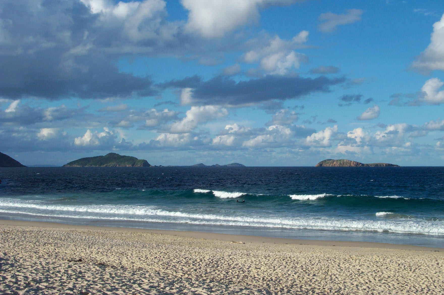 Beach at Port Stephens