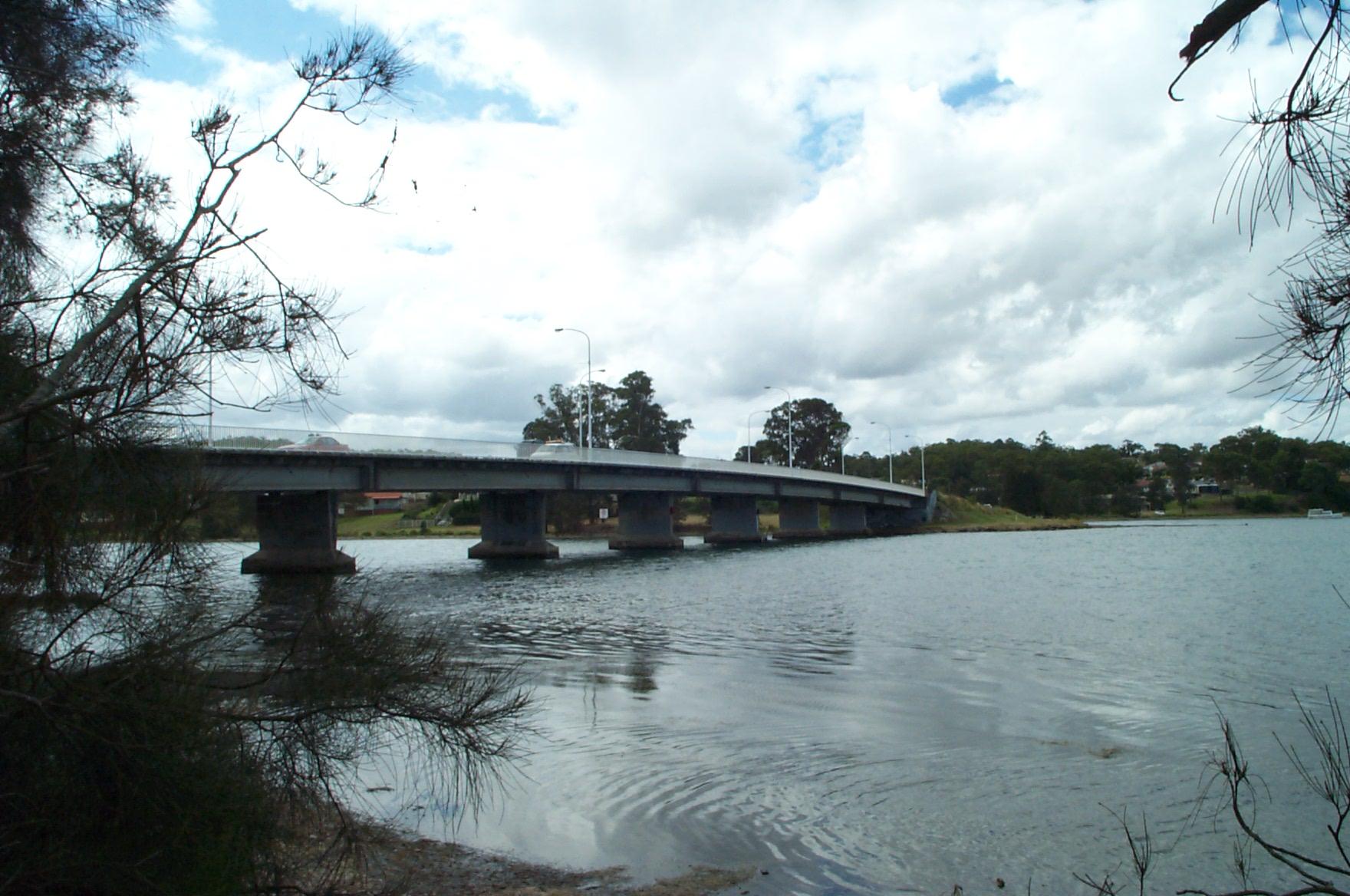main road bridge