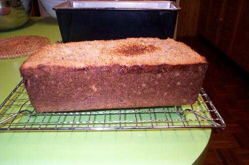 sour dough bread - salsa ferment