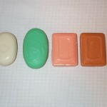 soaps from the Thai grocer's and the Chinese grocer's